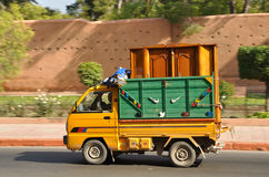 Small truck in Marrakesh Stock Photography