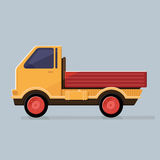Small truck for transportation cargo . Delivery service Royalty Free Stock Photography