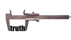 Small truth Royalty Free Stock Images