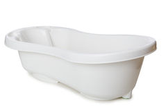 Small tub isolated on the white Stock Photos