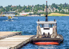 Small Tugboat Royalty Free Stock Photography