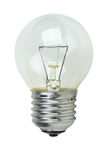 Small tungsten light bulb Stock Image