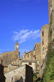 Small Tuscany Village Royalty Free Stock Photo