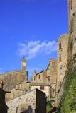Small Tuscany Village Royalty Free Stock Photo