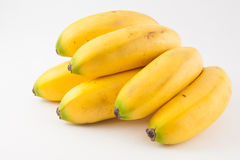 Small type of banana called murrapo Musa acuminata Stock Images