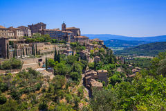 Small typical town in Provence, Stock Photo
