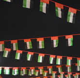 Small UAE national flag Stock Photos