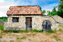 Small Ukrainian historical house Royalty Free Stock Images