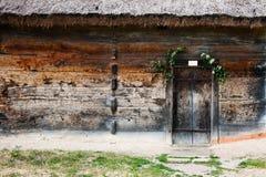 Small Ukrainian historical house Stock Images