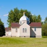 Small Ukrainian orthodox christian church edifice Royalty Free Stock Photos
