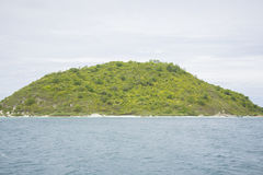 A small uninhabited island in the Gulf of Thailand. Royalty Free Stock Images