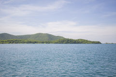 A small uninhabited island in the Gulf of Thailand. Stock Photo