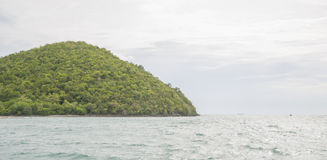 A small uninhabited island in the Gulf of Thailand. Royalty Free Stock Image