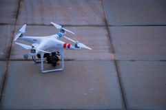 Small unmanned aerial vehicle (uav) Royalty Free Stock Images