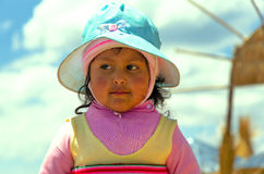Small Uro Girl Royalty Free Stock Image