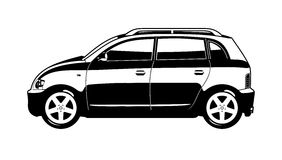 Small utilitie car Stock Photo