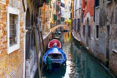 Small Venice Channel Stock Photo
