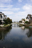 Small venice in Los Angeles Royalty Free Stock Photography
