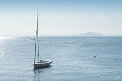 Small Vessel in Mar Menor Royalty Free Stock Images