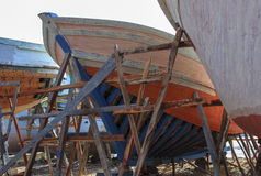 Free Small Vessels In A Shipyard. Royalty Free Stock Images - 43023449