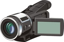 Small video cam Stock Photography