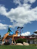 Small view at Frankenmuth Stock Images