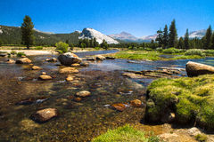 Small view at Yosemite Stock Images
