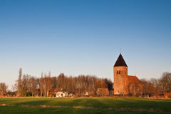 Small vilage in the countryside Royalty Free Stock Photos