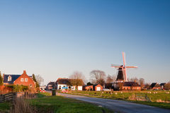 Small vilage in the countryside stock photography