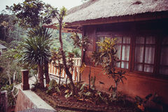 Small villa house at Bali Resort Stock Photography
