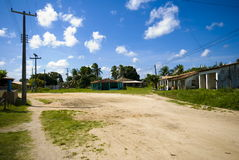 Small Village. Small and poor village in Brazil royalty free stock photos