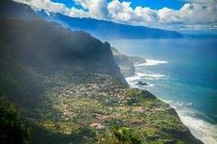 The small village Arco de Sao Jorge, Madeira Royalty Free Stock Photo