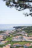 Small village Azores Royalty Free Stock Image