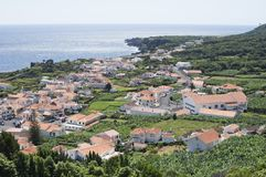 Small village Azores Royalty Free Stock Photo
