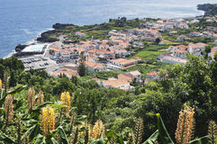Small village Azores Stock Photo