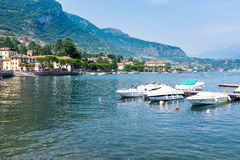Small village of Bellagio Stock Images