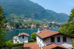 Small village of Bellagio Royalty Free Stock Image