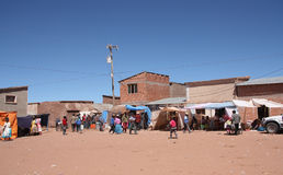 Small village in Bolivia Stock Photography