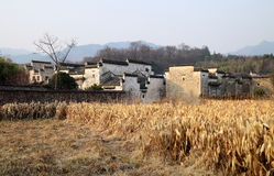 Small village in China Royalty Free Stock Photos