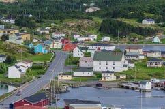 Small village community, Twillingate, Newfoundland. Stock Photos