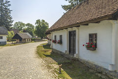 Small Village in Croatian countrysiide Stock Photos