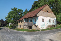 Small Village in Croatian countrysiide Royalty Free Stock Photo