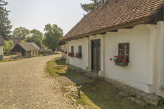 Small Village in Croatian countrysiide Stock Photo