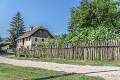 Small Village in Croatian countrysiide Royalty Free Stock Photos