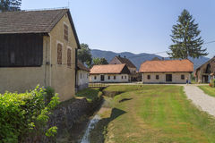 Small Village in Croatian countrysiide Royalty Free Stock Photography