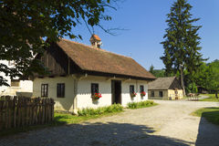 Small Village in Croatian countrysiide Stock Image