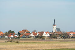 Village Den Hoorn on Texel Stock Images
