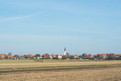 Village Den Hoorn on Texel Stock Photos