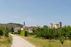 Small village in France Royalty Free Stock Photography