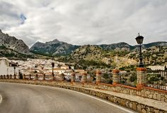 Small village of Grazalema, Spain Royalty Free Stock Image